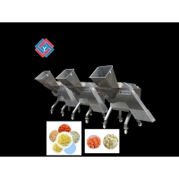 China 2t/Per Hour Fruit Papaya Pumpkin Vegetable Dicer Machine on sale