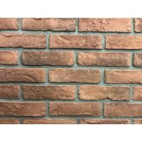 Best 3D01 NEW Antique Thin Veneer Outdoor Brick Tiles 205 X 50 X 12mm For Exterior Wall wholesale