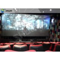 Best 4D Ride Simulator Electronic System 4D Movie Theater With All Special Effects wholesale