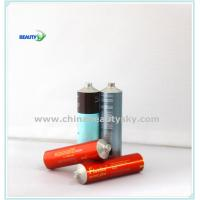 Quality Aluminum tubes for hair dye Collapsible Aluminum Cosmetics Tubes with Various caps wholesale