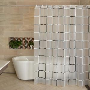 Best Eco Friendly PEVA Stylish Waterproof Shower Curtain Custom Printing Acceptable wholesale