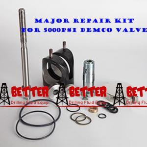 Quality DEMCO MUD VALVE MAJOR REPAIR KIT Equiv. Cameron DEMCO DM MUD VALVE p/n J025091-10221, J025091-10321, J025091-10421 wholesale