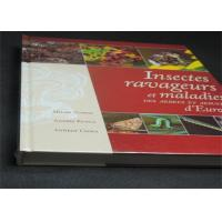 Best Professional France Insects Hardcover Book Printing With Plastic Film wholesale