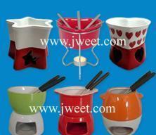 Best Ceramic Chocolate Fondue Set wholesale