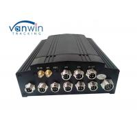 Best HD 4G LTE GPS WIFI 4CH 1080P HDD / SSD Mobile DVR for buses with Canbus wholesale
