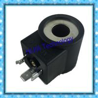 Best DIN43650 Hydraulic Solenoid Coil Tube Φ13 High 37.7mm 20.5W Electric Circuits DC12V DC24V wholesale