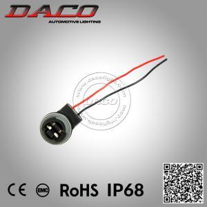 Best 3156 LED Light Bulb Socket Holder Wiring Harness 3156 Female Connector Headlight Bulb Adapter wholesale