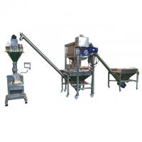 Best Coffee Scrub Semi Automatic Powder Filling Machine With Load Cell 3 Phase wholesale