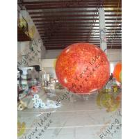 Cheap 2.5m helium PVC Fireproof with B1 Certificate and Waterproof Sun Earth Balloons Globe with Total Digital Printing for sale