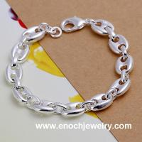 Best Korean fashion silver plated friendship bracelets bulk wholesale