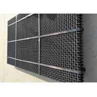 Best High Manganese Steel Quarry Screen Mesh Square Aperture For Aggregate Industry wholesale