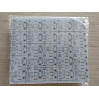 China Double sided PCB with 1.6mm 1oz copper thickness HASL surface treatment white soldmask on sale