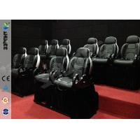 Best Mini 7D Movie Theater, 6 / 9 / 12 / 18 / 24 Persons XD Motion Cinema With Flat Screen wholesale