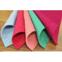 50 Wool 50 Polyester Wool Fleece Fabric For Blankets Long - Lasting Feature
