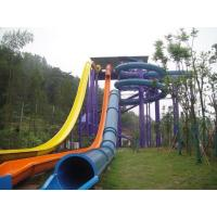 Best Funny High Speed Swimming Pool  Water Slides For Holiday Resort Visitors wholesale