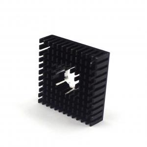 Best 40*40*11mm Black Small MK7 MK8 3D Printer Heatsink Aluminum Alloy wholesale