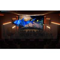 Best Flat Screen 5D Movie Theater with 7.1 Audio System Install In Exhibition Hall wholesale