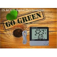 China Large LCD Panel Temperature and Humidity Station Digital Thermometer Hgrometer on sale