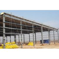 Quality Prefab Steel Workshop Buildings Heat Resistance Prepainted With Single Layer Floors wholesale