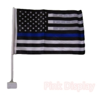 Best Wooden Pole Double Stitched CMYK Hand Waving Flag wholesale