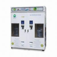 China Water Vending Machine with Refrigerating System, Give Change and Two Kinds of Water Temperature on sale