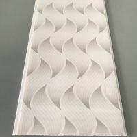 Best Flat Pvc Panels For Ceiling , Waterproof Bathroom Ceiling Panels Brilliant Printing wholesale