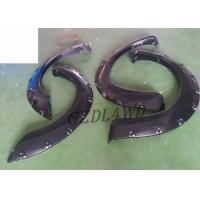 Best 2 Door Truck 4x4 Wheel Arch Flares For Nissan Navara D40 Parts With Rubber Trim wholesale