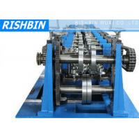 Quality C / Z / U Purlin Roll Forming Machine with 20 Stations for Structural Steel Fabrication wholesale