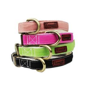 Best Adjustable Canvas Cotton Decorative Pet Dog Collars And Leashes Plaid wholesale