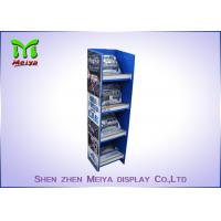 Best Customized Pop Up Cardboard Floor Display Stands Environment Friendly wholesale