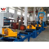 Best Auto Combination Machine H Beam Welding Line With Assembly / Welding And Straightening wholesale