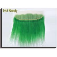 """Best 10"""" - 20"""" Human Hair Lace Closure No Synthetic Green Color No Smell wholesale"""