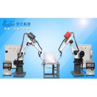 Quality Programmable Logic Control Automatic Welding Machine/Welding Equipment with Robotic Arm wholesale