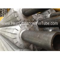 Quality Extruded OD 1'' Aluminum Finned Tubes With 10 FPI Fin Densities Segment Fins wholesale