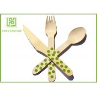 Best Packing Airline Disposable Wooden Eco Friendly Cutlery Set For Birthday Cake wholesale