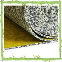China moistureproof PU rebonded sponge carpet underlay on sale