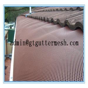 Best Powder Coated Aluminium Gutter Mesh wholesale
