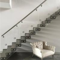 Cheap Stainless Steel Standoff Frameless Glass Railing for Stair / Pool in the for sale
