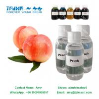 Buy cheap Concentrated E PG/VG mixed juice peach liquid flavor/flavour/essence, fruit flavor used for nicotine E Liquid from wholesalers