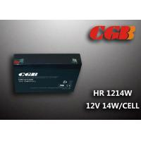 Best 12V 3AH HR1214W Energy Storage Battery , High Rate Discharge battery Maintenance Free wholesale