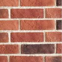 Cheap manufactured brick veneer craft brick for wall cladding, light weight , easy installation for sale