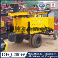 Best Hydraulic DTH Drilling Rig DFQ-200W wholesale