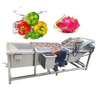 China 2017 Top Quality Blueberry Strawberry Pepper Cleaning Tomato Apple Radish Washing Machine Vegetable Washer And Dryer on sale