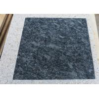 Buy cheap steel grey granite stone floor tiles gray granite stone high hardness polished from wholesalers