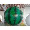 Buy cheap 4m diameter watermelon Fruit Shaped Balloons Rainproof / Fireproof from wholesalers