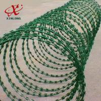 Best Galvanized CBT-65 BTO-22 Razor Barbed Wire High Security Barbed Wire wholesale