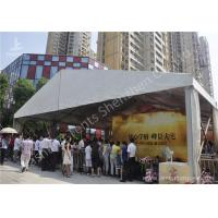 Best 15x25M Clear Span Outdoor Party Tents , Metal Frame Rain Proof Tent For Outside Party wholesale