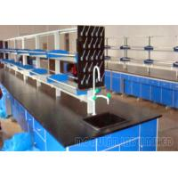 China Steel And Wood School Laboratory Furniture With Faucet Sink And Lab Stools on sale