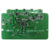 Cheap 2 Layers SMT PCB Assembly PCBA Prototype Service Green Soldmask For Audio for sale
