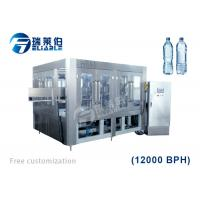 Best Medium Production Full Automatic Water Bottle Filling Machine For Plastic Bottle Mineral Water wholesale